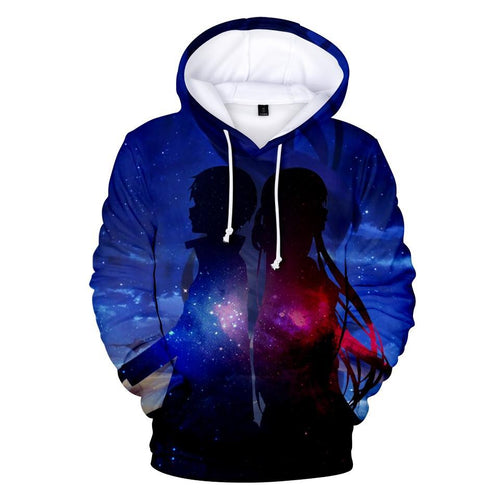 Sword Art Online & Fairy Tale Fashion 3d hoodies - The Night