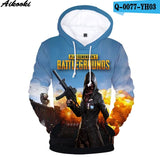 PUBG Fashion Hoodies 3D - The Night