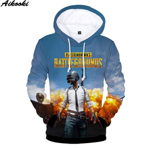PUBG Fashion Hoodies 3D
