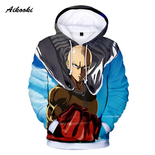 One Punch Man Saitama 3D Hoodies - The Night