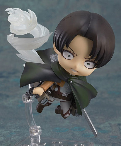 Anime Attack On Titan Levi PVC Nendoroid - The Night