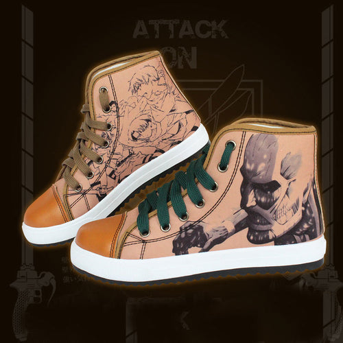 Attack on Titan shoes - The Night
