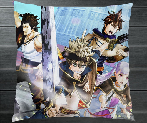 Black Clover  Two Side Pillowcase - The Night