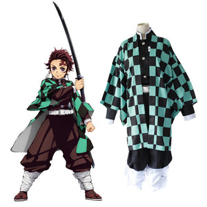 Demon Slayer Cosplay Tanjirou Kamado  Kimetsu No Yaiba - The Night