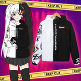 Coat Danganronpa Cosplay Costume Unisex Hoodie - The Night