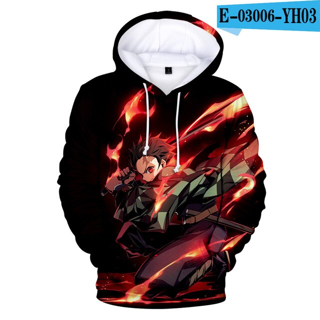 Demon Slayer - kimestu no yaiba 3D Hoodies - The Night