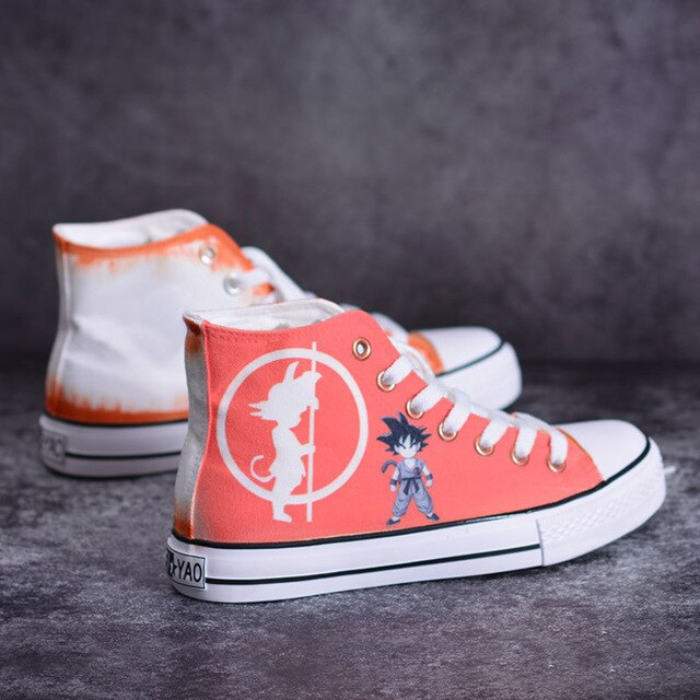 Dragon Ball shoes Unisex - The Night