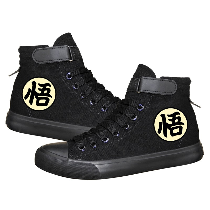 Dragon Ball Z shoes Unisex - The Night