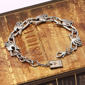 Fairy Tail Metal charm Bracelet - The Night