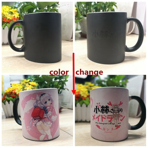 Kobayashi-san Chi No Maid Dragon KannaKamui Color Change Mug - The Night