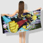 Assassination Classroom Bath Towel  Beach - The Night
