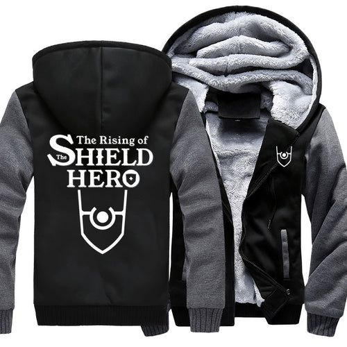 The Rising of the Shield Hero Zipper Hoodie - The Night