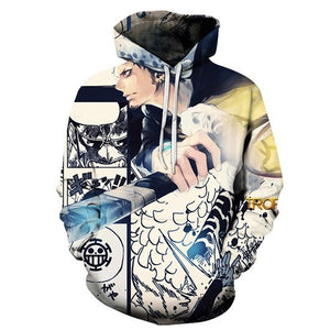 One Piece 3D Hoodies - The Night