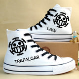 One Piece Cosplay Canvas Shoes Luffy & law - The Night
