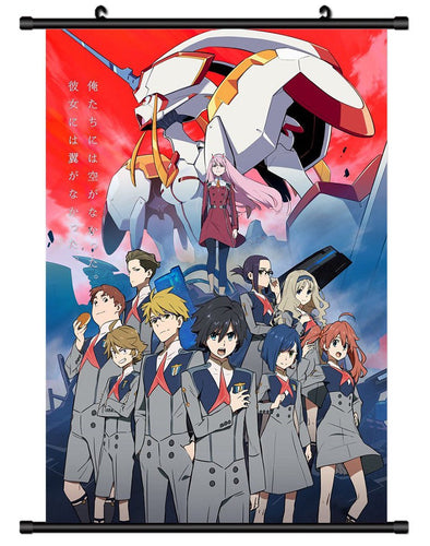 DARLING in the FRANXX Poster - The Night