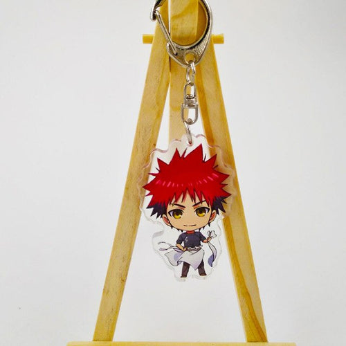 Shokugeki no Soma Yukihira souma  Key Ring - The Night