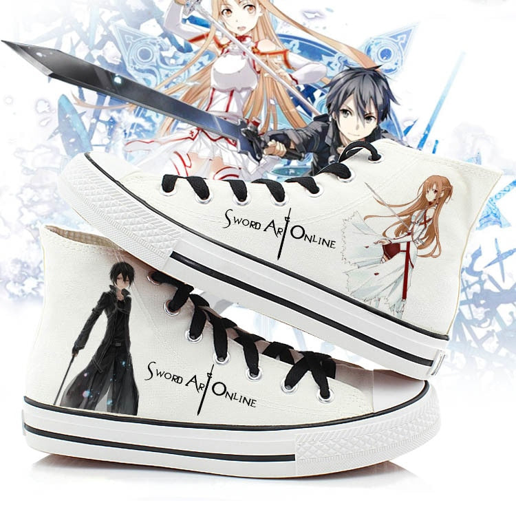 Sword Art Online Fashion Shoes - The Night