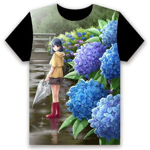 Domestic Na Kanojo Domestic Girlfriend  T-Shirts - The Night