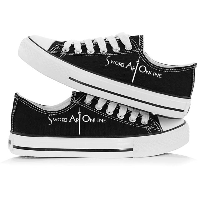 Sword Art Online Unisex Canvas Shoes - The Night