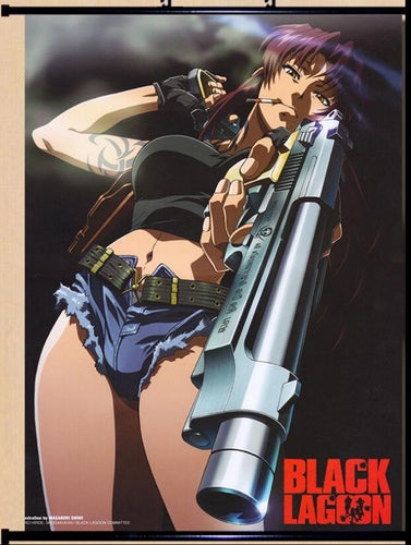 poster BLACK LAGOON Revy Anime  Poster - The Night