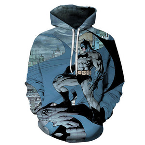 Avengers-Superheros 3D Hoodies - The Night