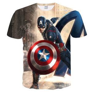 Super heros Avengers 3D T-Shirts - The Night