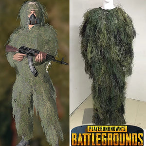 PUBG Ghillie Suit Cosplay costume Camouflage clothing - The Night