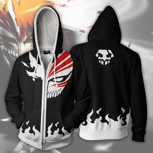 BLEACH 3D zipper HOODIE - The Night