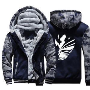 BLEACH Kurosaki Ichigo Hoodies Zipper - The Night
