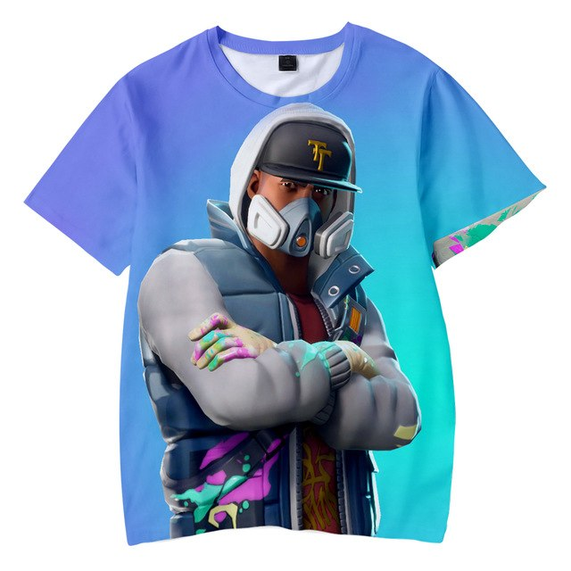 FØRTNITE 3D tshirts - The Night