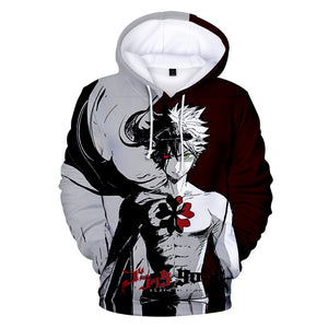 Black Clover 3D Hoodies - The Night