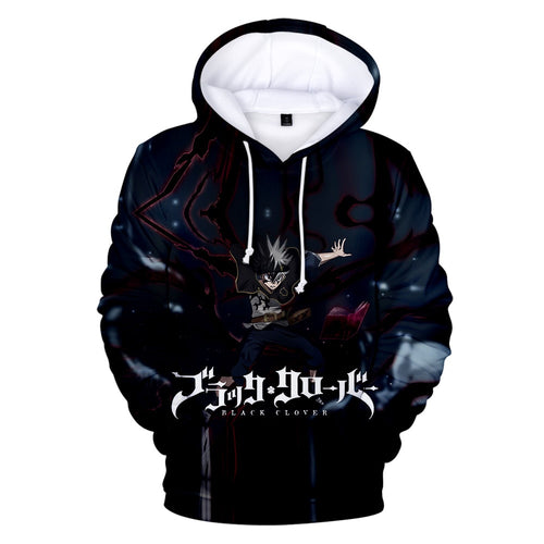 Black Clover Hoodies - The Night