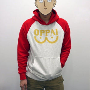 One Punch man Saitama Oppai hoodie - The Night
