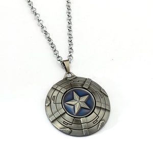 Captain America Necklace The Avengers - The Night