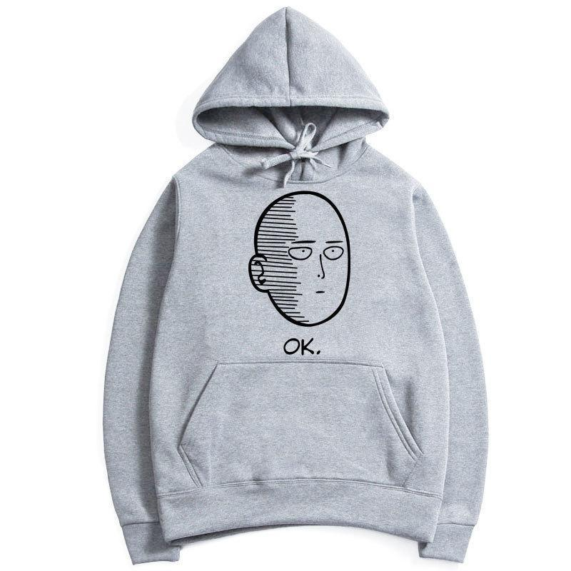 Comic One Punch Man Hoodies - The Night