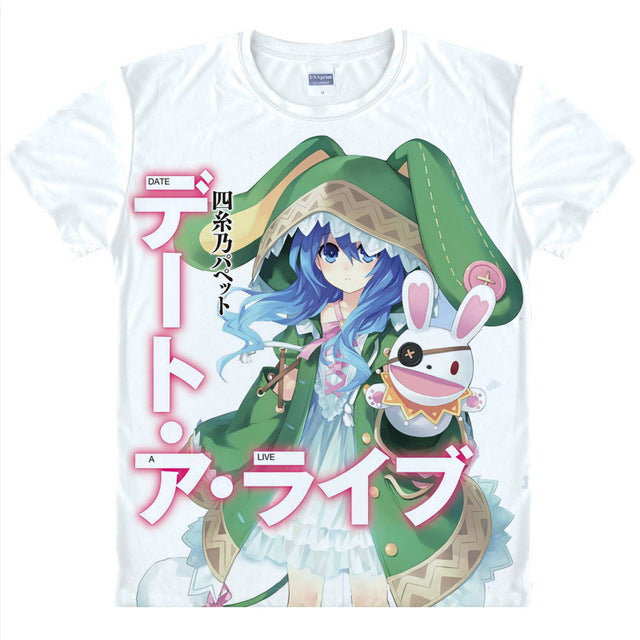 DATE A LIVE T-Shirts - The Night