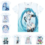 Hatsune Miku Vocaloid T-Shirts - The Night
