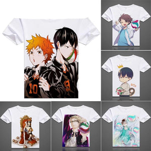 Haikyuu T-Shirts Unsixe - The Night