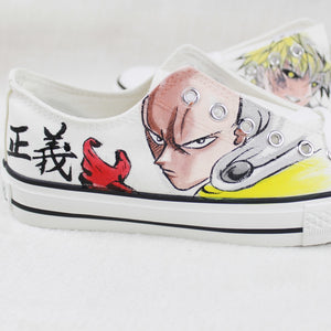 One Punch Man shoes Unisex - The Night