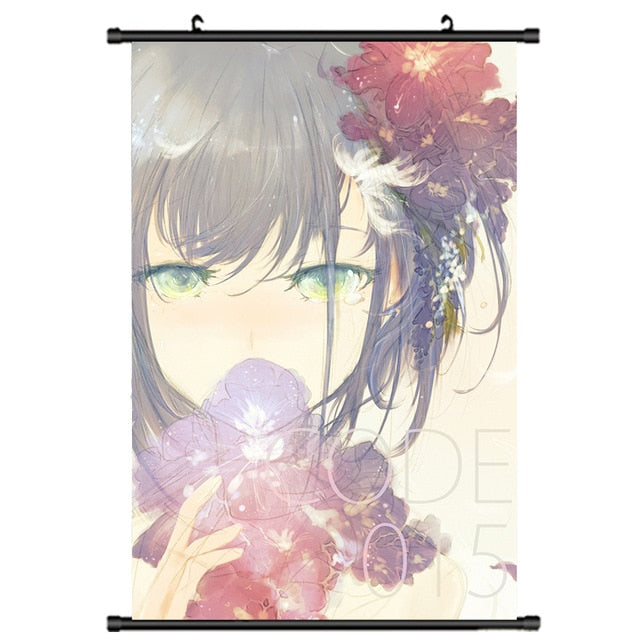 DARLING in the FRANXX Ichigo Decor Wall Scroll Poster 40x60CM - The Night
