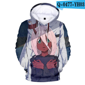 Darling In The Franxx 3D Hoodies - The Night