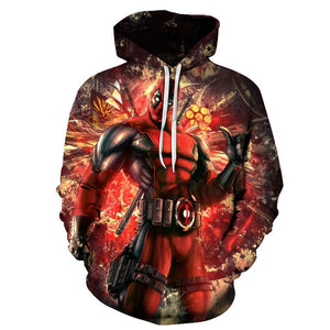 Super Heros 3D Hoodies - The Night