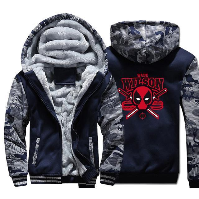Deadpool Wade Wilson Hoodie Super Hero - The Night