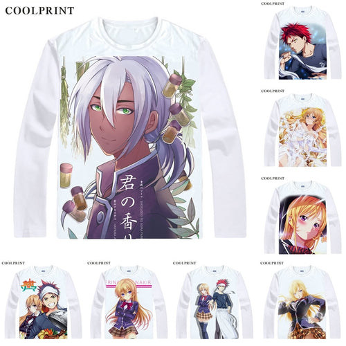 Food Wars  Long Sleeve Shirts - The Night