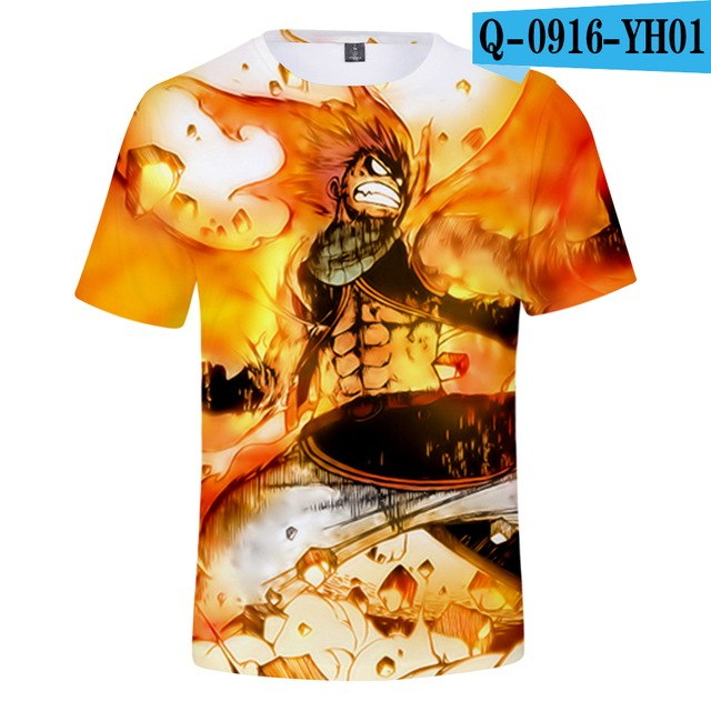 Fairy Tail Fashion 3D t-shirts - The Night