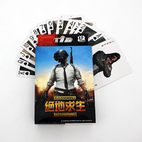 PUBG Playing Poker Cards Collection - The Night