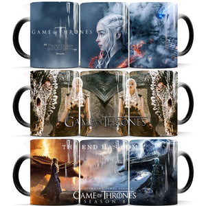 GOT  the end begins mugs color changing - The Night