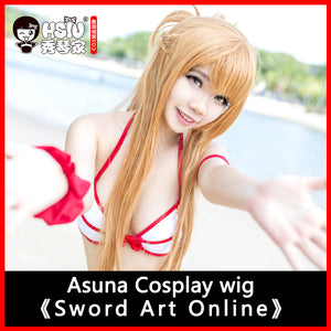 100cm long wig Sword Art Online Cosplay Wig Asuna - The Night