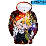 Nanatsu No Taizai 3D Hoodies - The Night