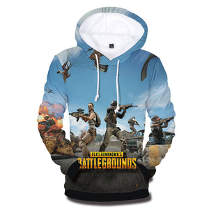 3D PUBG Hoodies Men/women - The Night
